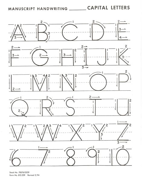 pin capital letters practice worksheets previous cursive