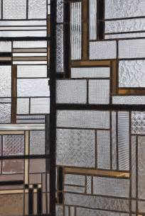 Art Deco Glass Screen