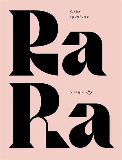 Graphic Inspiration Typeface Typography Cako Tshirt Font