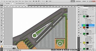 Parking Layout Plan Pattern Photoshop Render Semi
