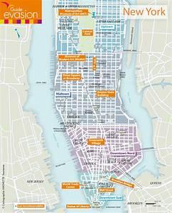 Plan De Manhattan : carte de new york le blog evasion ~ Melissatoandfro.com Idées de Décoration