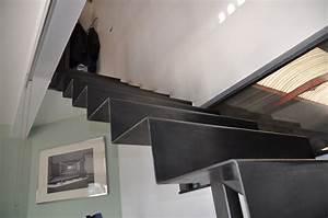 Habiller Un Escalier En Béton Brut : excellent gallery of ets bertrand powered by net system with escalier beton brut with habiller ~ Nature-et-papiers.com Idées de Décoration