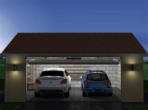 Projet De Construction De Garage Double