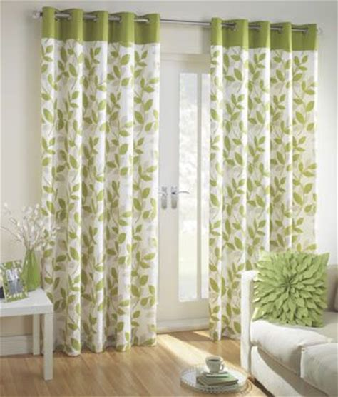 green  cream curtains  kitchen bay window bought