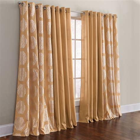 Beautiful Curtains For Living Room The Terrific Of Design