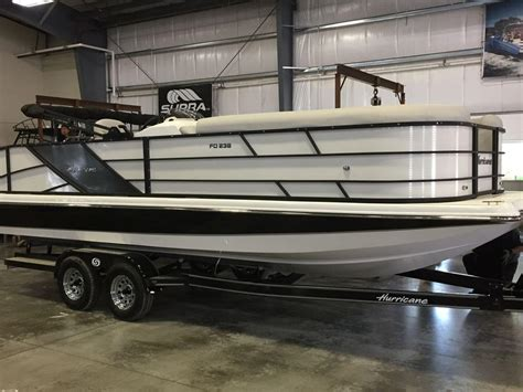 Pontoon Boats For Sale Grove Ok by Hurricane Pontoon Boats For Sale Boats