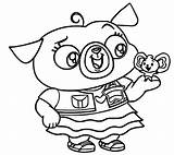 Paw Patte Coloriage sketch template