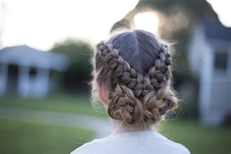 flip  braid cute girls hairstyles