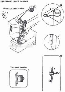 Vintage Sewing Machine Threading Guides