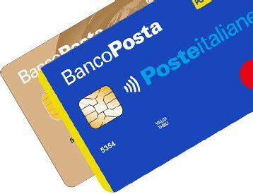 carta banco posta click carta bancoposta pi 249 carta di credito poste italiane