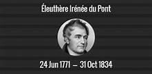Éleuthère Irénée du Pont death anniversary