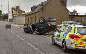 Witnesses tell of shock as car overturns and smashes ...