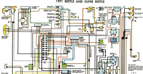 Free Auto Wiring Diagram Beetle Super