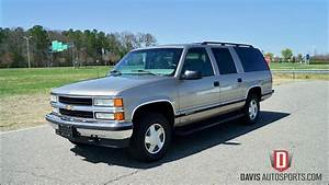 Davis Autosports 1999 Chevrolet Suburban For Sale    4x4
