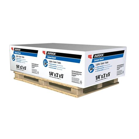 durock cement board durock next gen 1 4 in x 3 ft x 5 ft cement board 170219 the home depot