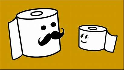 Toilet Cartoon Funny Paper Roll Purpose Clipart