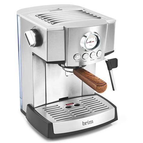 Besides water, the second most consumed liquid is coffee. 15 Bar Espresso Maker - BRIM