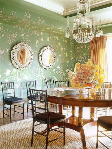chinoiserie  room design  modern exotic spaces