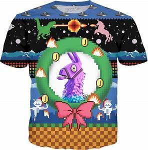 Epic Games Fortnite Save The World Llama Christmas Gaming