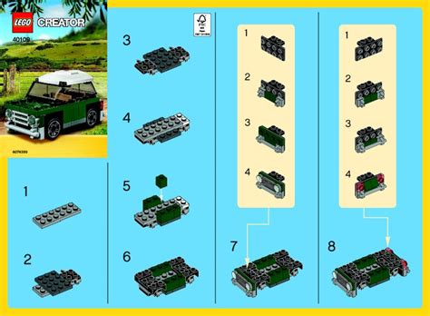mini cooper instructions notice instructions de montage 40109 mini cooper