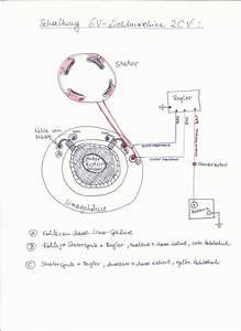 Instandsetzung 6v Lichtmaschine Auf Kurbelwelle