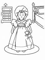 American Coloring Pages Grace Doll Printable Dolls Getcolorings sketch template