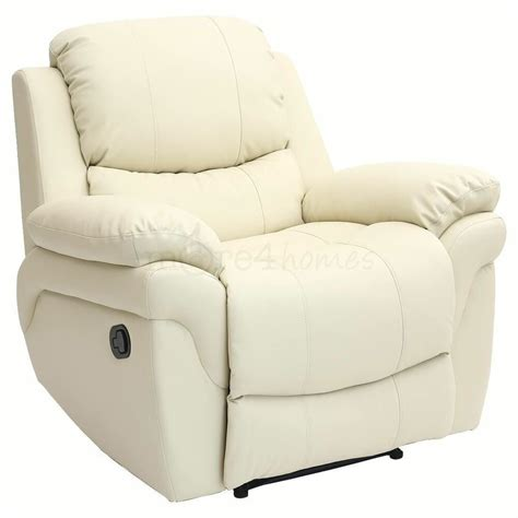 Loveseat Armchair real leather recliner armchair sofa home