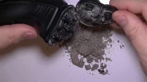 electric shaver cleaning video youtube