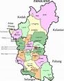 Clipart - Parliamentary map of Perak, Malaysia