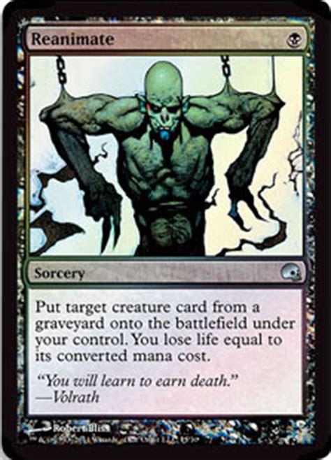 graveborn deck list visual reanimate from graveborn spoiler