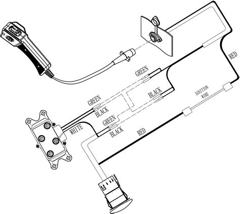 Badland Atv Winch Wiring Diagram by Badland Winches Wiring Diagram 3500 Pound Wiring Diagram
