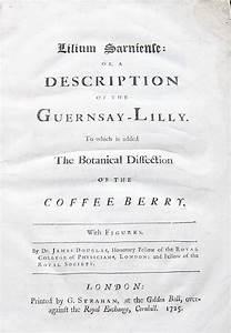 Lilium Sarniense  Or  A Description Of The Guernsay