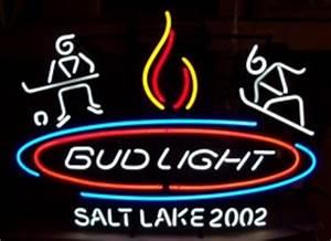 Bud Light Salt Lake Neon Sign