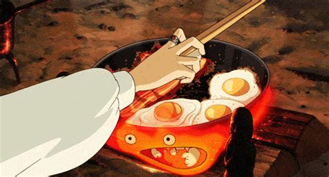 Studio Ghibli Breakfast Gif