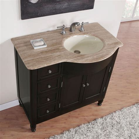 48 inch bathroom vanity right side sink silkroad exclusive right side 38 quot traditional single sink