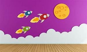 Muster Für Wandgestaltung : kinderzimmer wandgestaltung die sch nsten ideen ~ Lizthompson.info Haus und Dekorationen