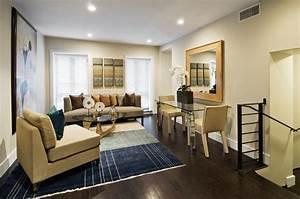 Manhattan Upper East Side Townhouse Modern Living Room
