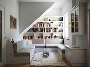Wohnzimmer Mit Dachschräge : wohnideen wohnzimmer mit dachschr ge bibliothek lapazca ~ Lizthompson.info Haus und Dekorationen