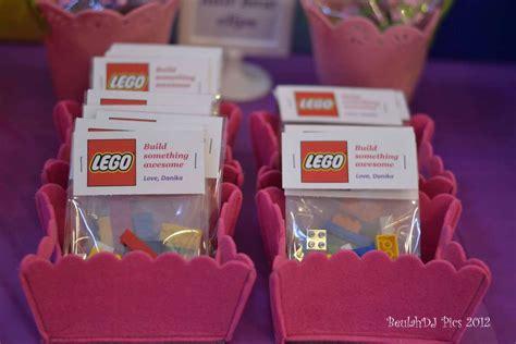 lego friends pink purple girl birthday party ideas