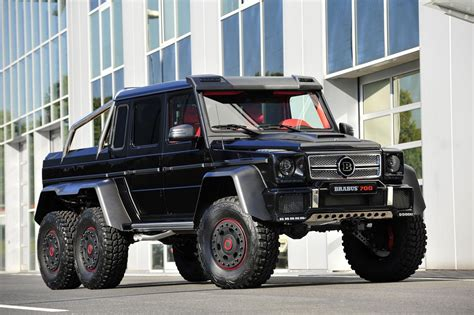 Tiny.cc/6jleqz 6 wheel mercedes truck : 2013 Mercedes-Benz G63 AMG 6x6 B63S-700 By Brabus Gallery 522453 | Top Speed