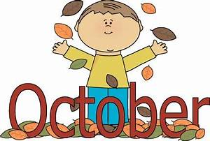 Autumn October Month | Clip Art-Months | Pinterest | We ...