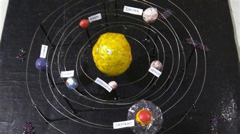 c 243 mo hacer una maqueta del sistema planetario solar youtube