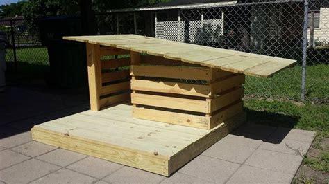 wooden pallet dog house plans pallet dog house dog house dog house plans