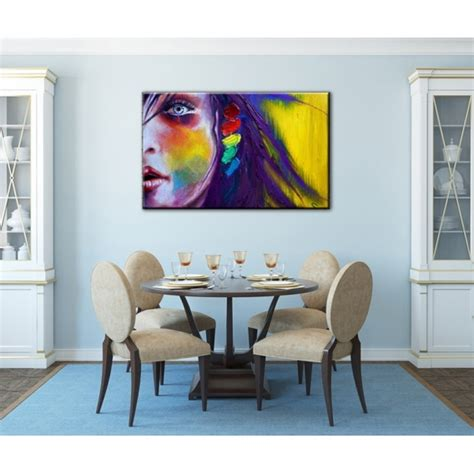 tableau deco tableau d 233 co femme en couleur artwall and co