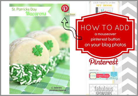 Get Pinterest Button Pinterest How To Add A Mouseover Pin It Button To Your