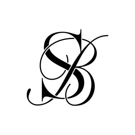 business logo design premade logo monogram logo bs sb