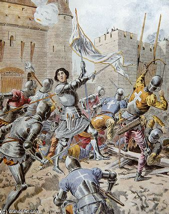 the siege of orleans joan of arc at the siege of orleans by frederic theodore