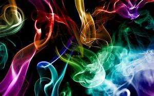 Abstract, Smoke, Rainbows, Artwork, Wallpapers, Hd, Desktop