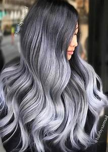 What Makes Hair Go GraySilver Hair Trend 51 Cool Grey