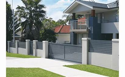 Fence Half Cost Masonry Walls Create Fencing